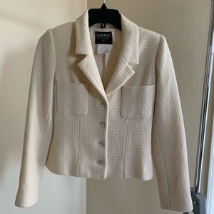 a650f4def663f7 CHANEL · CHANEL Vintage Classic Tweed Jacket